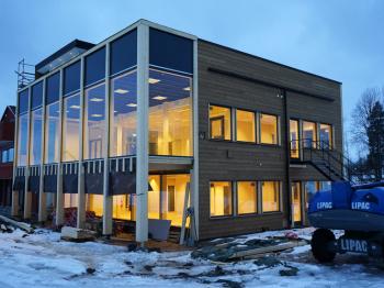 Bild för referens VM huset/Skidförbundets hus