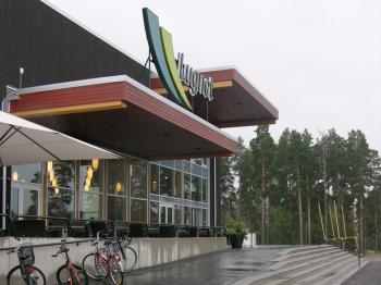 Presentationsbild för referensen VM huset/Skidförbundets hus